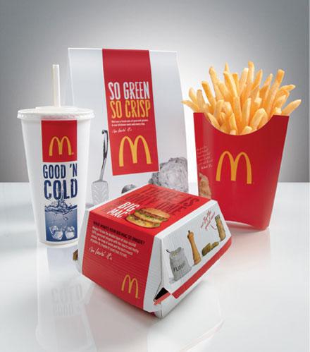 Design Business Association Mcdonald S Global Packaging